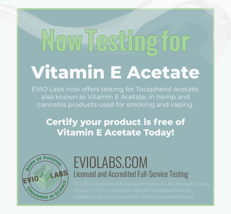 Vitamin E Acetate Testing Available